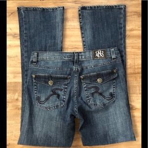Rock & Republic Denim Jeans Size 10 Bootcut